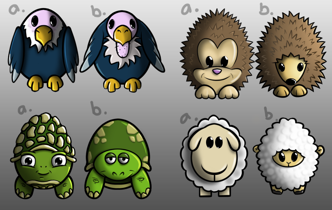 Animals from Eggies
